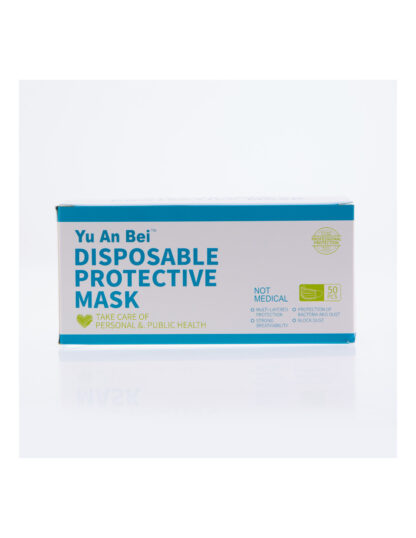 Niet-herbruikbare hygiënische maskers.