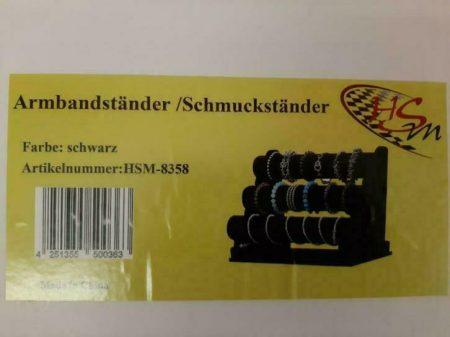 armband/horloge standaard