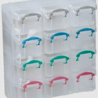 Hobbybox - sorteerbox met 12-vakken