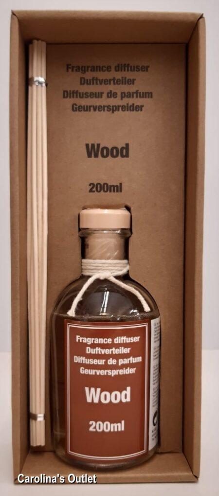 Geurverspreider 200ml - Wood / Hout