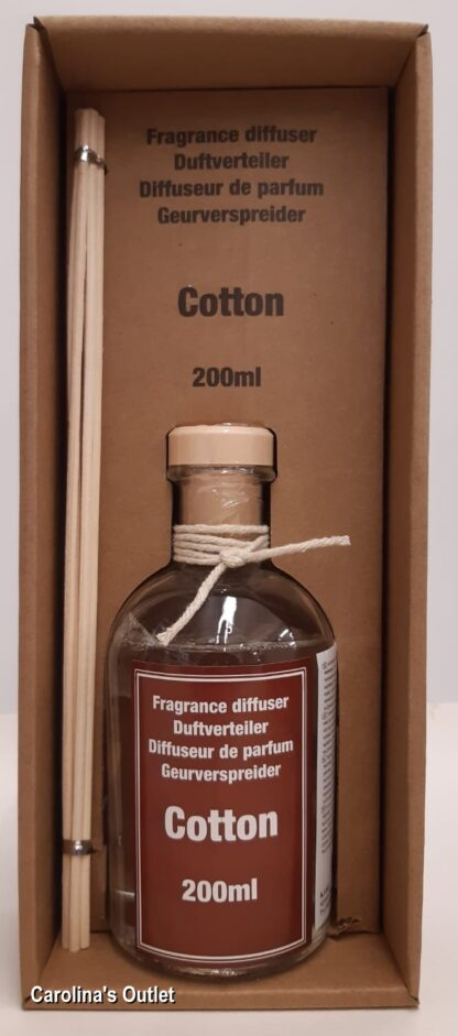 Geurverspreider 200ml - Cotton / Katoen