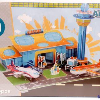 3D bouwpakket vliegveld