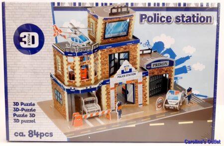 3D bouwpakket politieburau