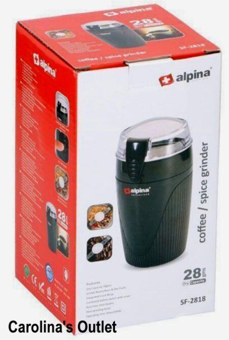 Elektrische koffiemolen Alpina