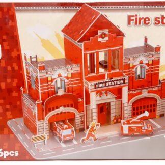 3D bouwpakket brandweerkazerne