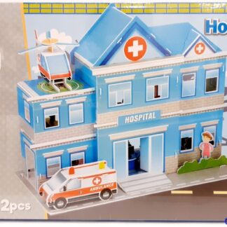 3D bouwpakket ziekenhuis