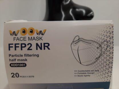 5-laags FFP2 NR mondmaskers