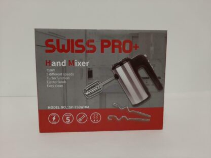 Swiss Pro Handmixer met Turbo Functie