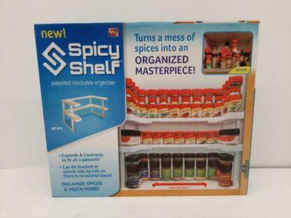 Spicy Shelf een keukenhulp voor je kruidenpotjes