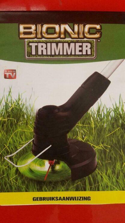 Bionic Trimmer. Draadloze lichtgewicht grastrimmer.