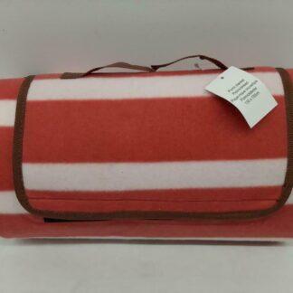Picknickkleed - Waterdicht - 130x150 - Rood/Wit